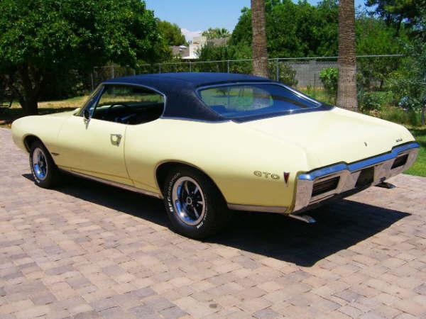 68 GTO rear