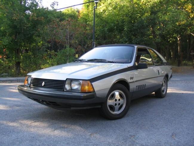 Weird 80s Cars - Renault Fuego