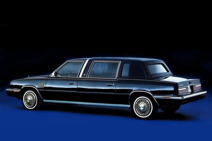 Weird 80s Cars - Chrysler Executive Limousine