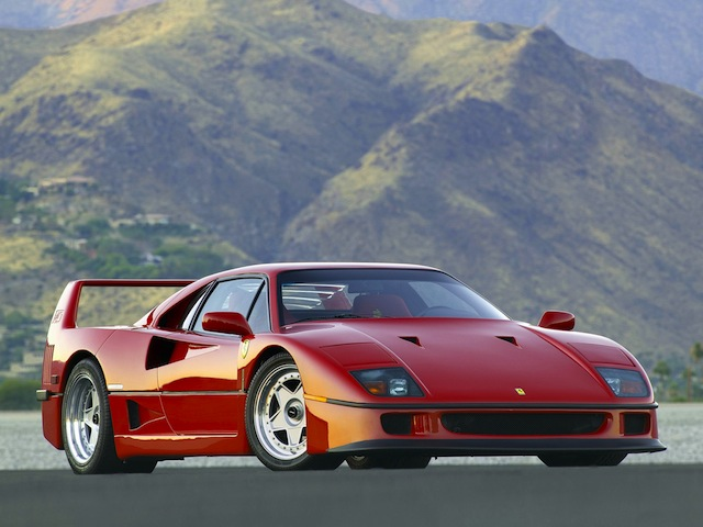 Ferrari Facts - Ferrari F40
