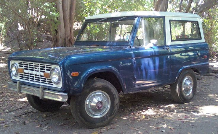 First Gen Bronco Facts 7