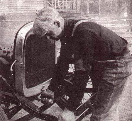 Handcrank Engine Starter