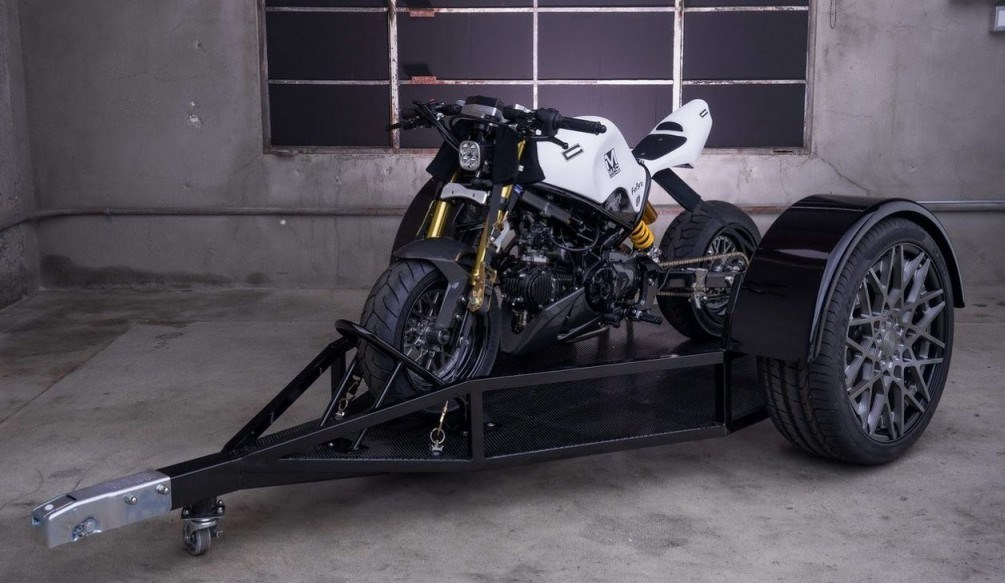 Honda Grom Street Fighter by MAD Industries 2