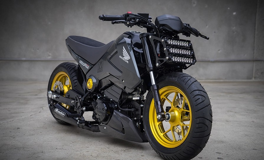 Honda Grom Street Fighter by MAD Industries 5