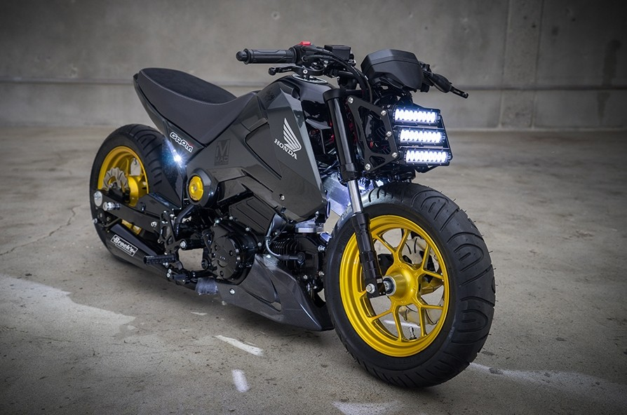 Honda Grom Street Fighter by MAD Industries 7
