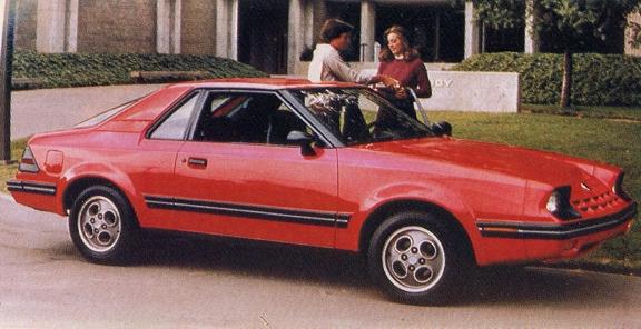 Weird 80s Cars - Ford EXP