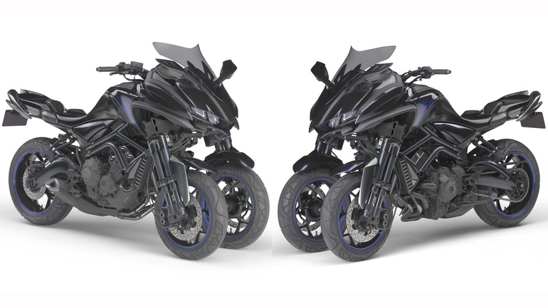 MWT-9: Yamaha Three Wheeler 3
