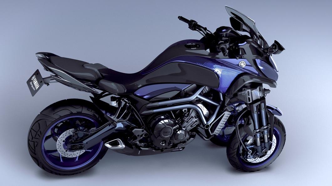 MWT-9: Yamaha Three Wheeler 4