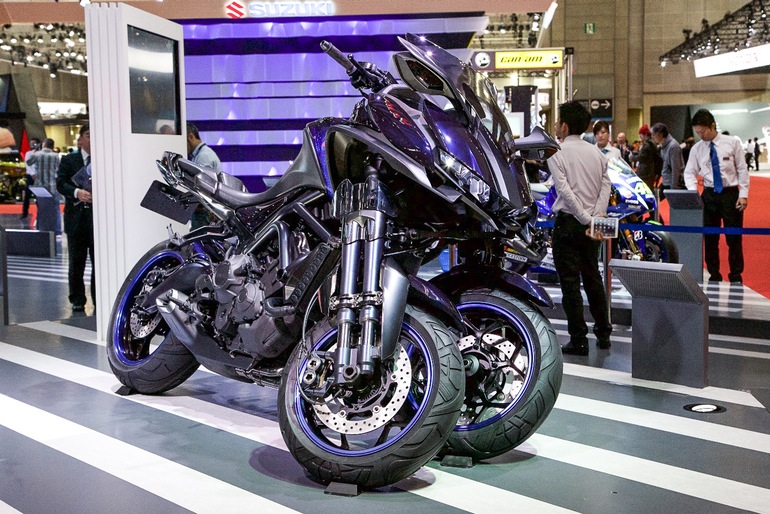 MWT-9: Yamaha Three Wheeler 6