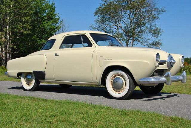 Unusual 50s Cars - Studebaker Champion Starlight Coupe