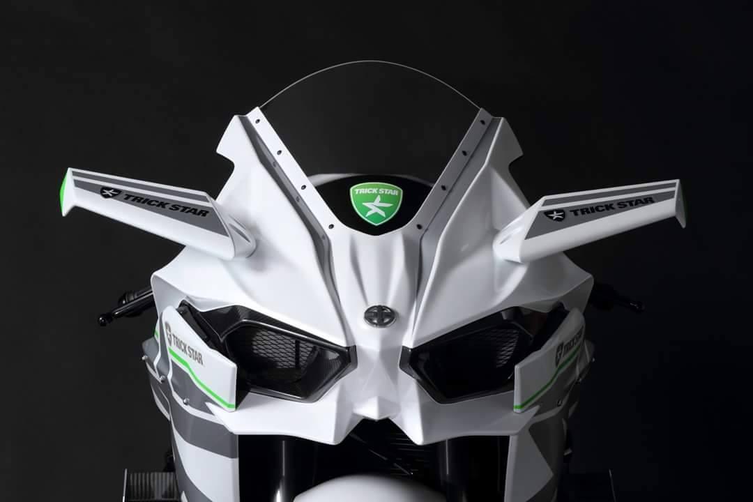 Kawasaki White Trickstar 2