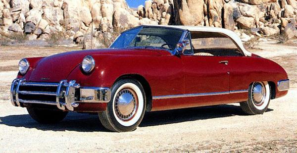Unusual 50s Cars - Muntz Jet