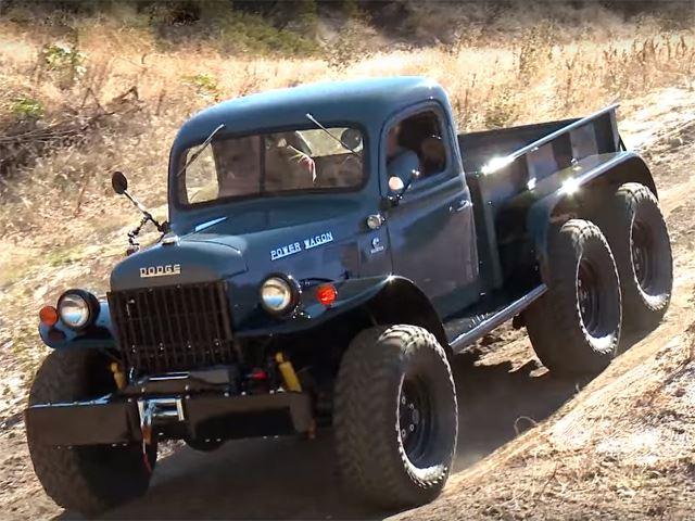 1942 Dodge Power Wagon Restoration 3