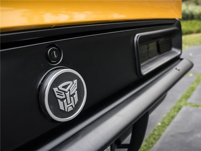 67 Camaro Bumblebee 5