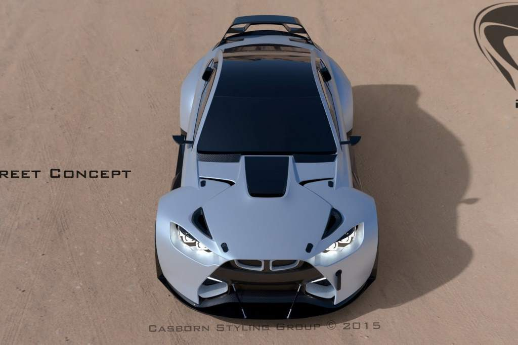 BMW M4 Mamba GT3 Overhead View