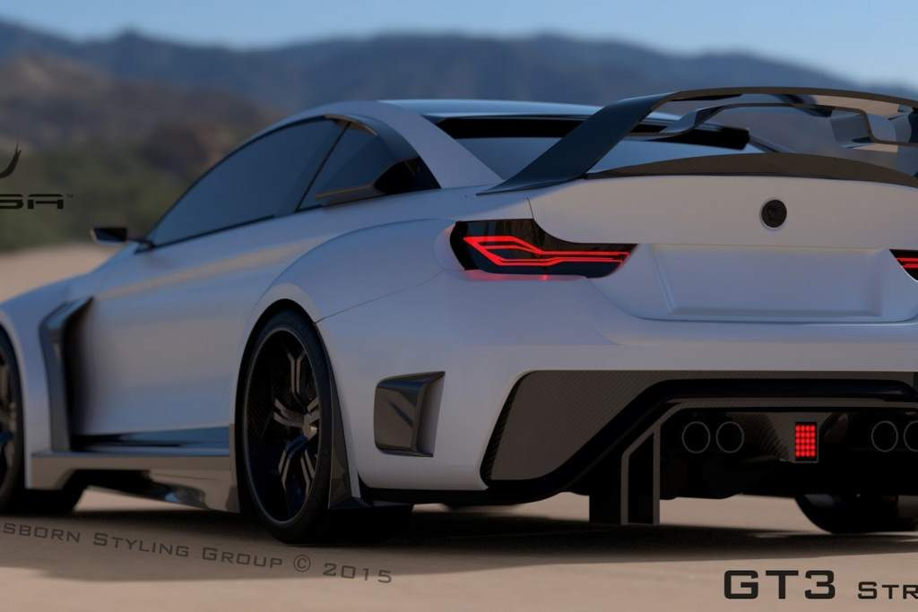 BMW M4 Mamba GT3 Price set to $350k for the 1,000 hp variant