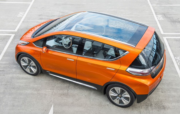 Chevy Electric Car 4