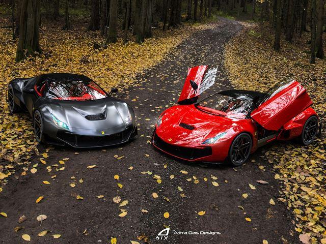 Future Ferrari 8