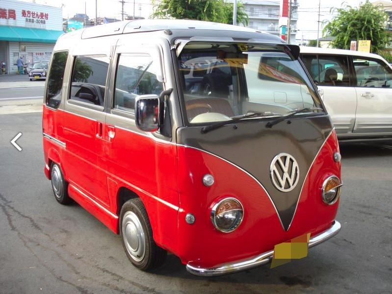 VW Bus Subaru Conversion 1