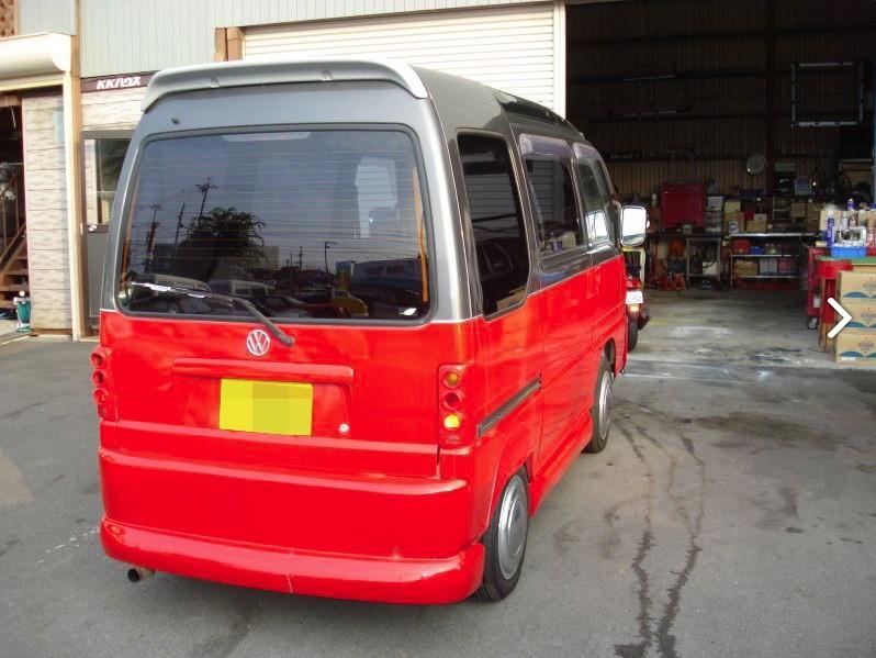 VW Bus Subaru Conversion 4