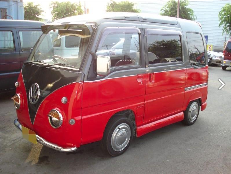 VW Bus Subaru Conversion 5