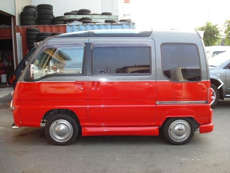 VW Bus Subaru Conversion 2
