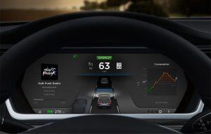 Tesla Autopilot. (Courtesy: Tesla Motors)