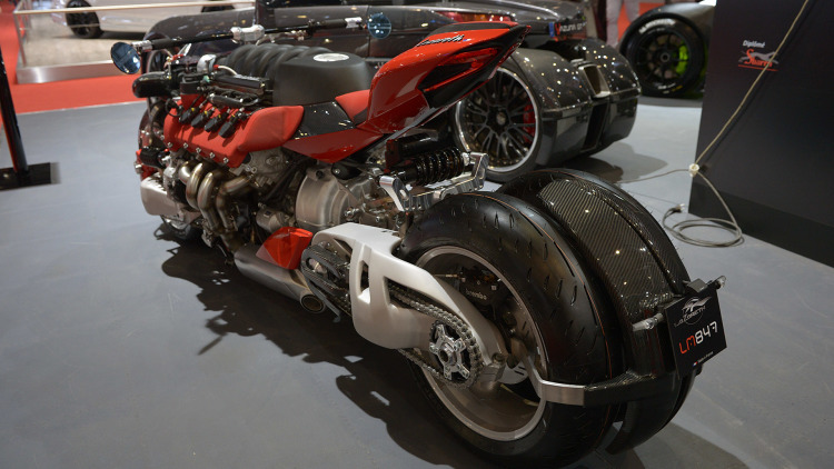 Lazareth Maserati Motorcycle - 4