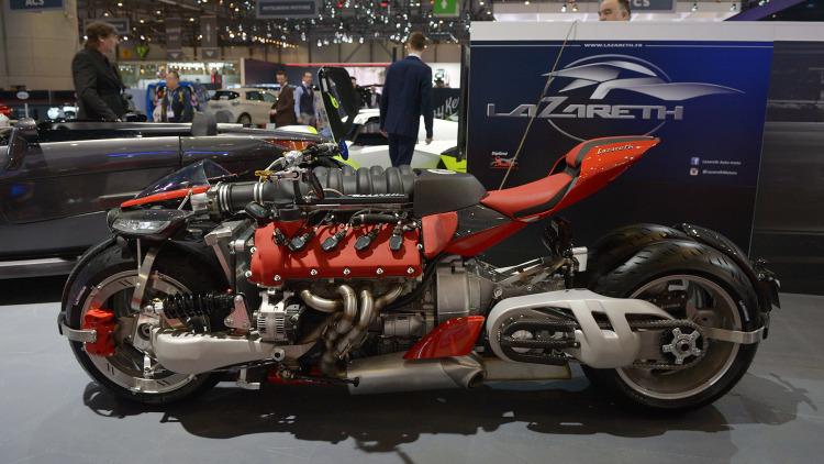 Lazareth Maserati Motorcycle - 1