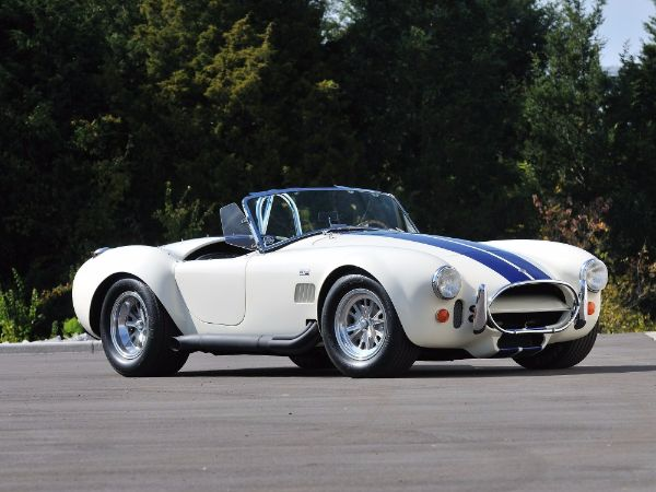 Most Expensive Ford Muscle Cars - 1966-Shelby-Cobra-Roadster