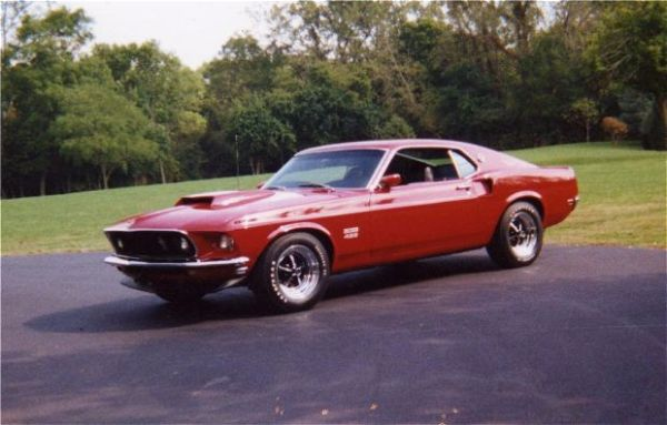 Most Expensive Ford Muscle Cars - 1969 Boss 429