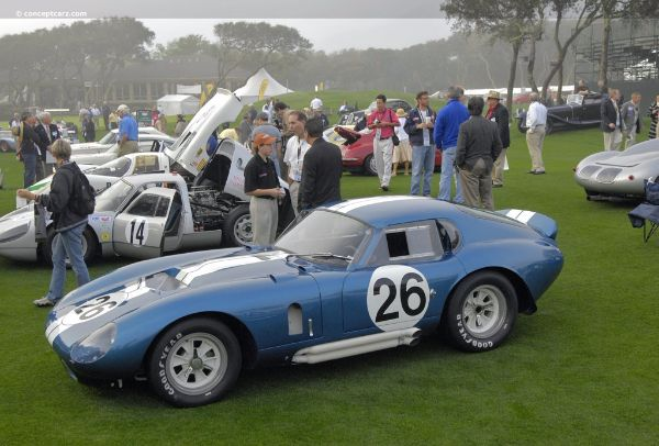 Most Expensive Ford Muscle Cars - 65 Daytona Cobra Coupe