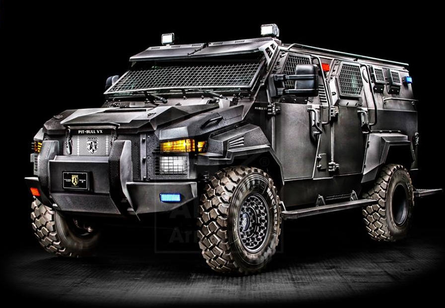 Military Armored Vehicles - Armored Alpine Pit-Bull