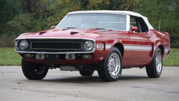 Most Expensive Ford Muscle Cars - Carroll Shelby 1969 GT500