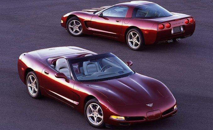 Fastest Corvette Models - Corvette C5 50th Anniversary Edition