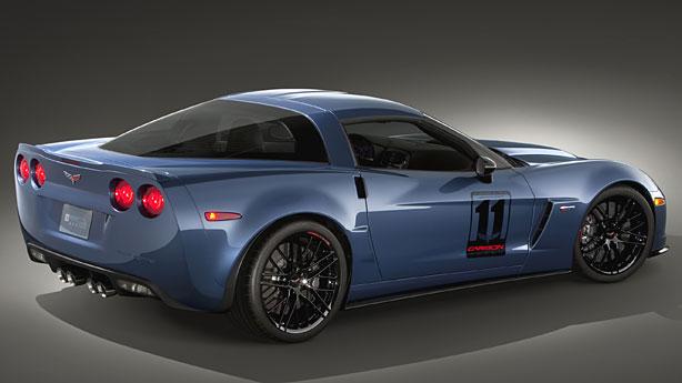 Fastest Corvette Models - Corvette Z06 Carbon Edition
