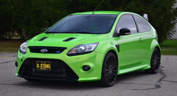 Best Selling American Car Of All Time - Ford Focus RS