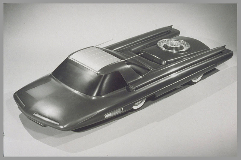1950s Concept Cars - Ford Nucleon