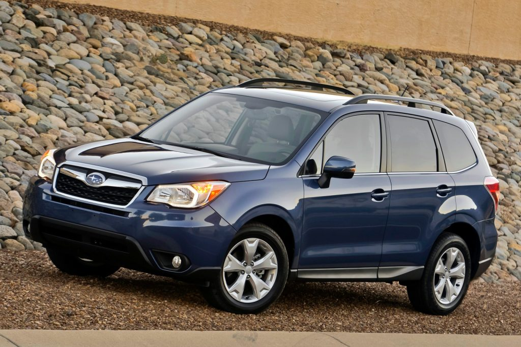 Consumer Reports Best Cars 2016: SubaruForester