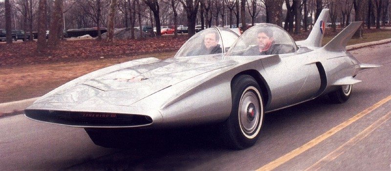 1950s Concept Cars - GM Firebird III