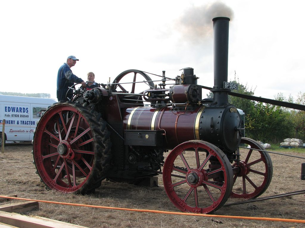 Car Innovations - Steam Engine
