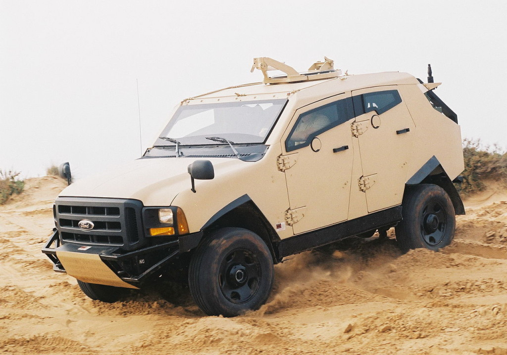 Civilian Armored Vehicles - Armored Ford 1