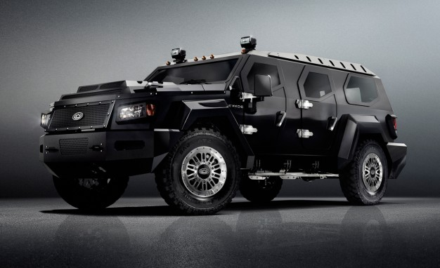 Civilian Armored Vehicles - Armored Evade