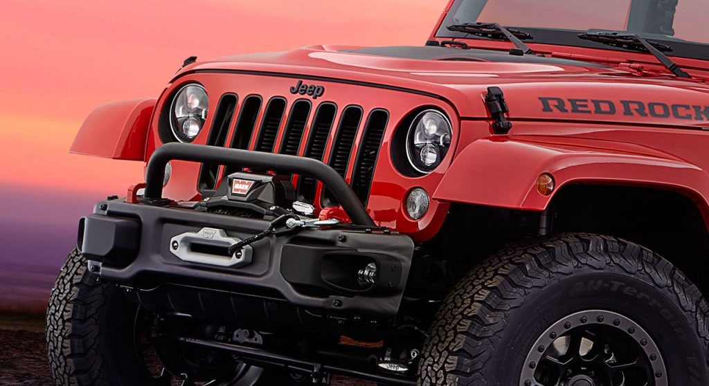 Jeep Wrangler Red Rock Concept 5