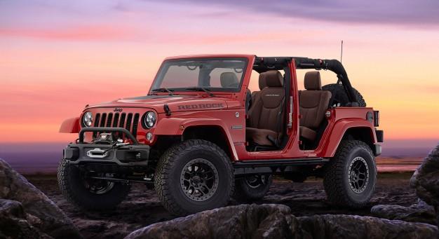Jeep Wrangler Red Rock 1