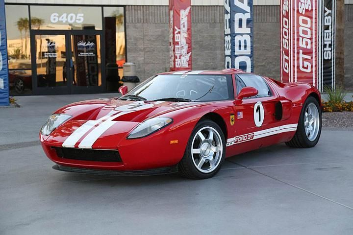 Original Ford GT Auction 1