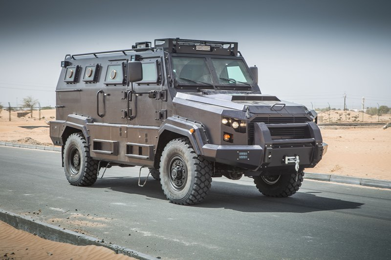 Civilian Armored Vehicles - Armored Spartan