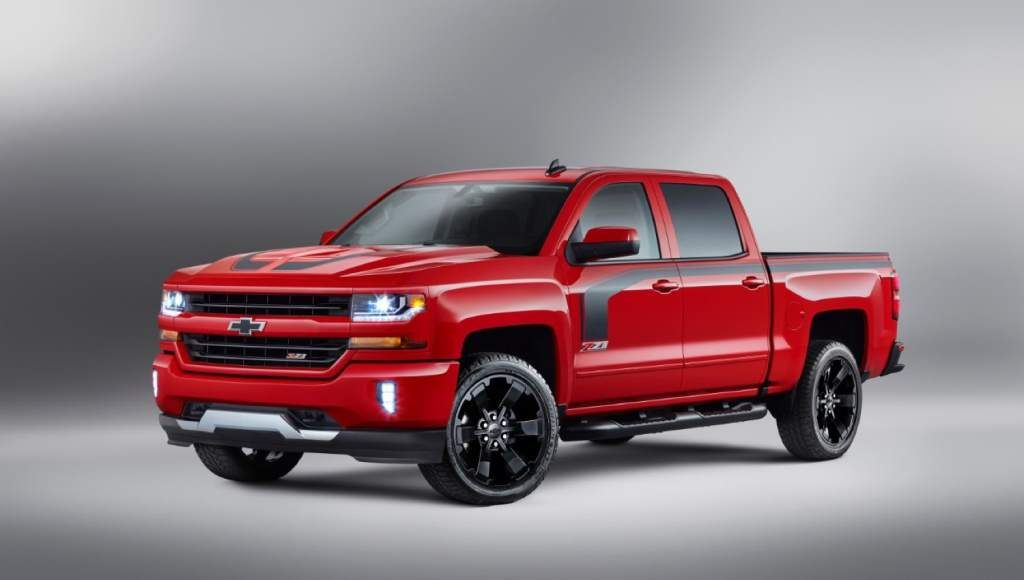 Chevy Silverado Rally Edition >> Not Much Rally In The 2016 Chevy Silverado Rally Edition