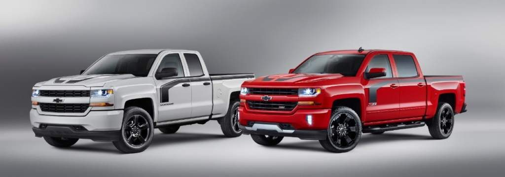 Silverado Rally 2 and Silverado Rally 1 side by side