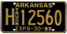Least Cars Per Capita - Arkansas